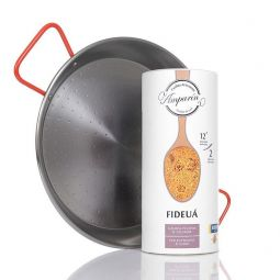 PACK Paella Frying Pan + Fideua Seafood Noodles