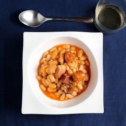 Asturian Been Stew Extra