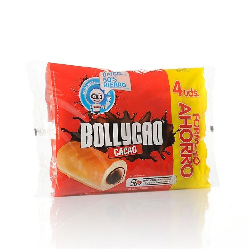 Bollycao Buns with Cocoa Butter