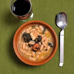Bohneneintopf aus Galizien