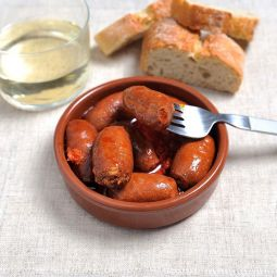 Mini Chorizos with Cider
