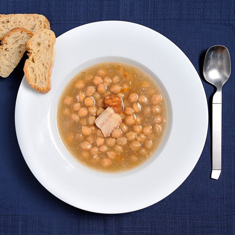 Chickpeas Stew from Madrid