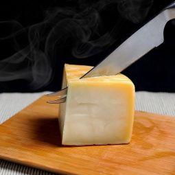 Geräucherter Idiazabal Käse