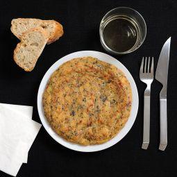 Tortilla de Patata con Morcilla de Burgos (preparado)