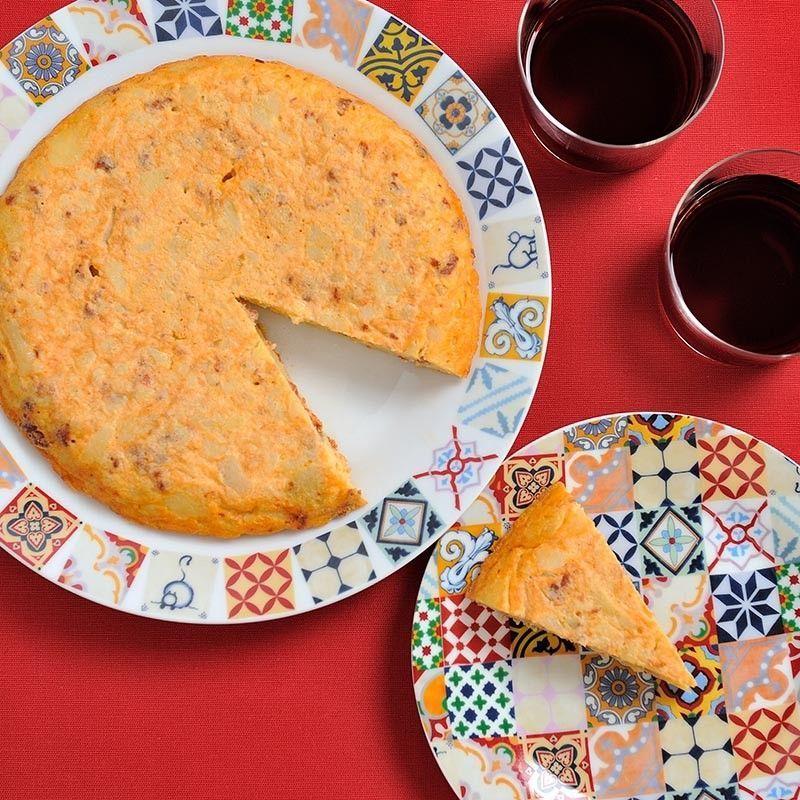 Mischung für Tortilla mit Chorizo
