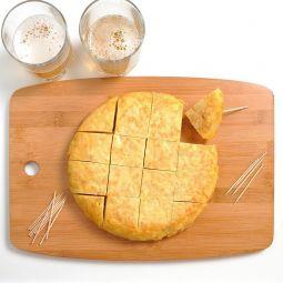 Preparado de Tortilla de Patata con Cebolla