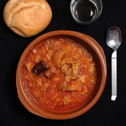 Tripe with Chorizo