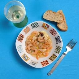 Prawns with Garlic
