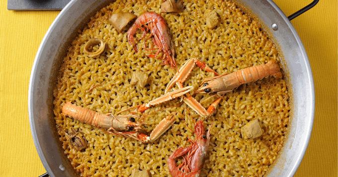 Seafood Paella for everyone