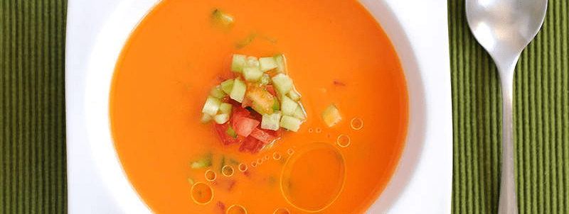 Curiosities about the Natural Gazpacho
