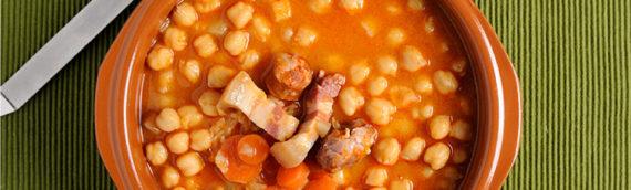 El cocido madrileño un delicioso plato para combatir el frío