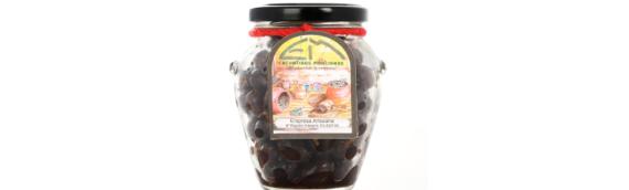 Aceitunas negras, un aperitivo español que gusta a todo el mundo