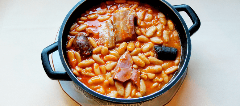 Asturian fabada stew a dish to make the cold more bearable