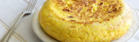 Tortilla de Patata, ¿hay algo mas español?
