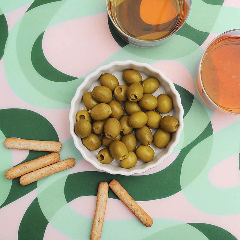 Oliven la Española: eine typische und unwiderstehliche Vorspeise