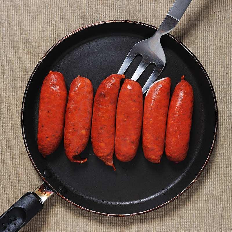Grill Chorizo, gegrillt und fertig