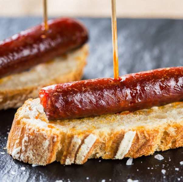 Spanish Chistorra in Gastronomic Spain