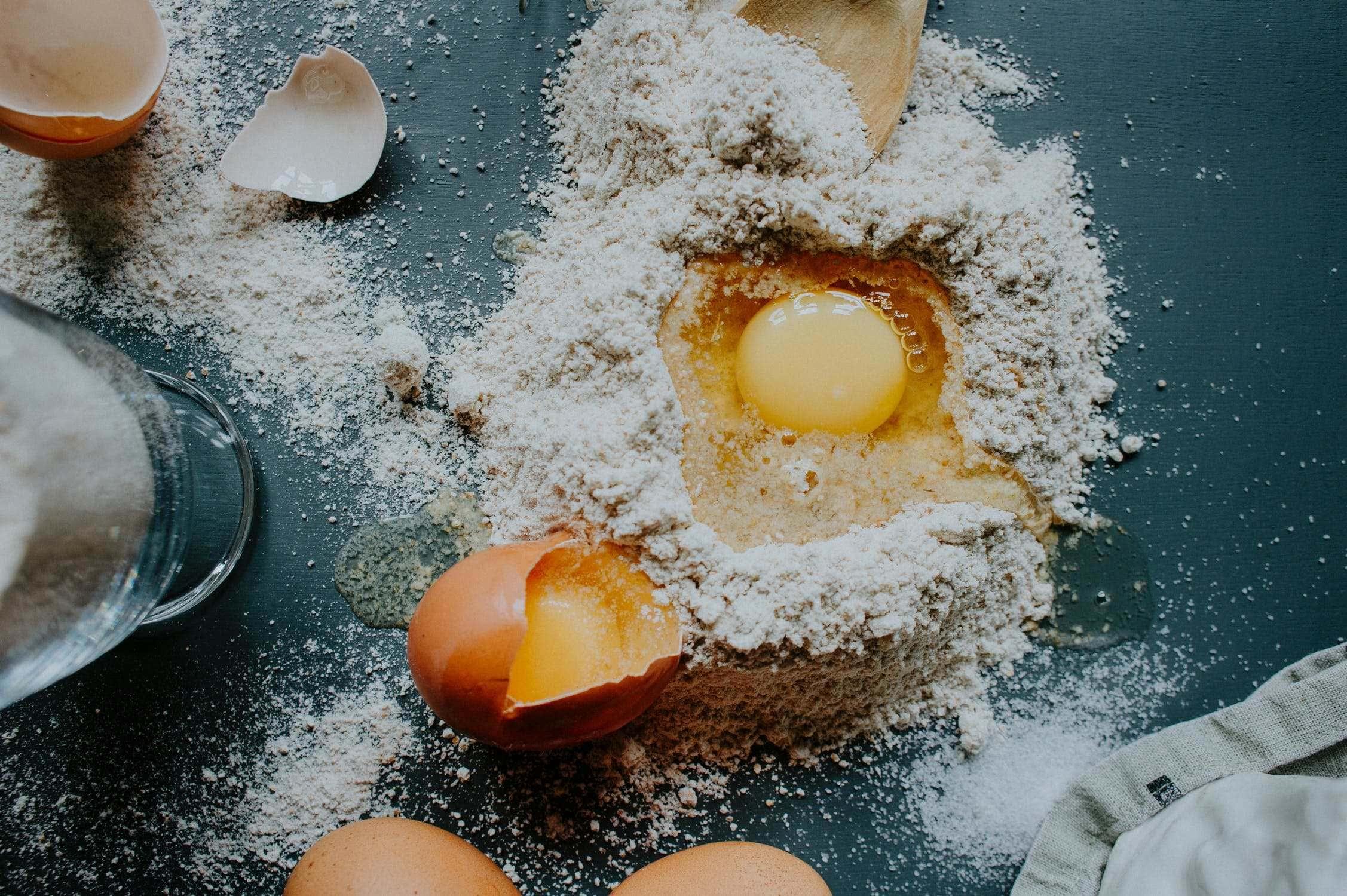 Receta de Huevos Rotos con Jamón de Teruel
